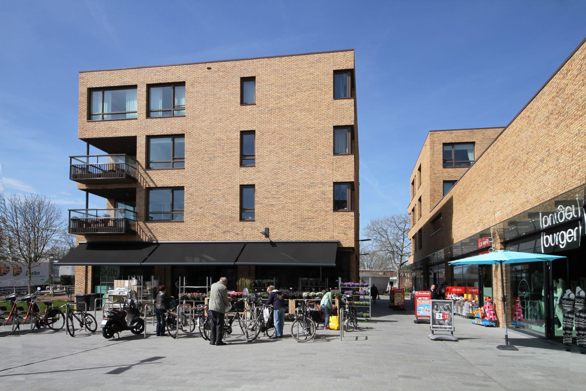 Appartementen En Winkels Miereakker Reeuwijk Steenhandel Gelsing
