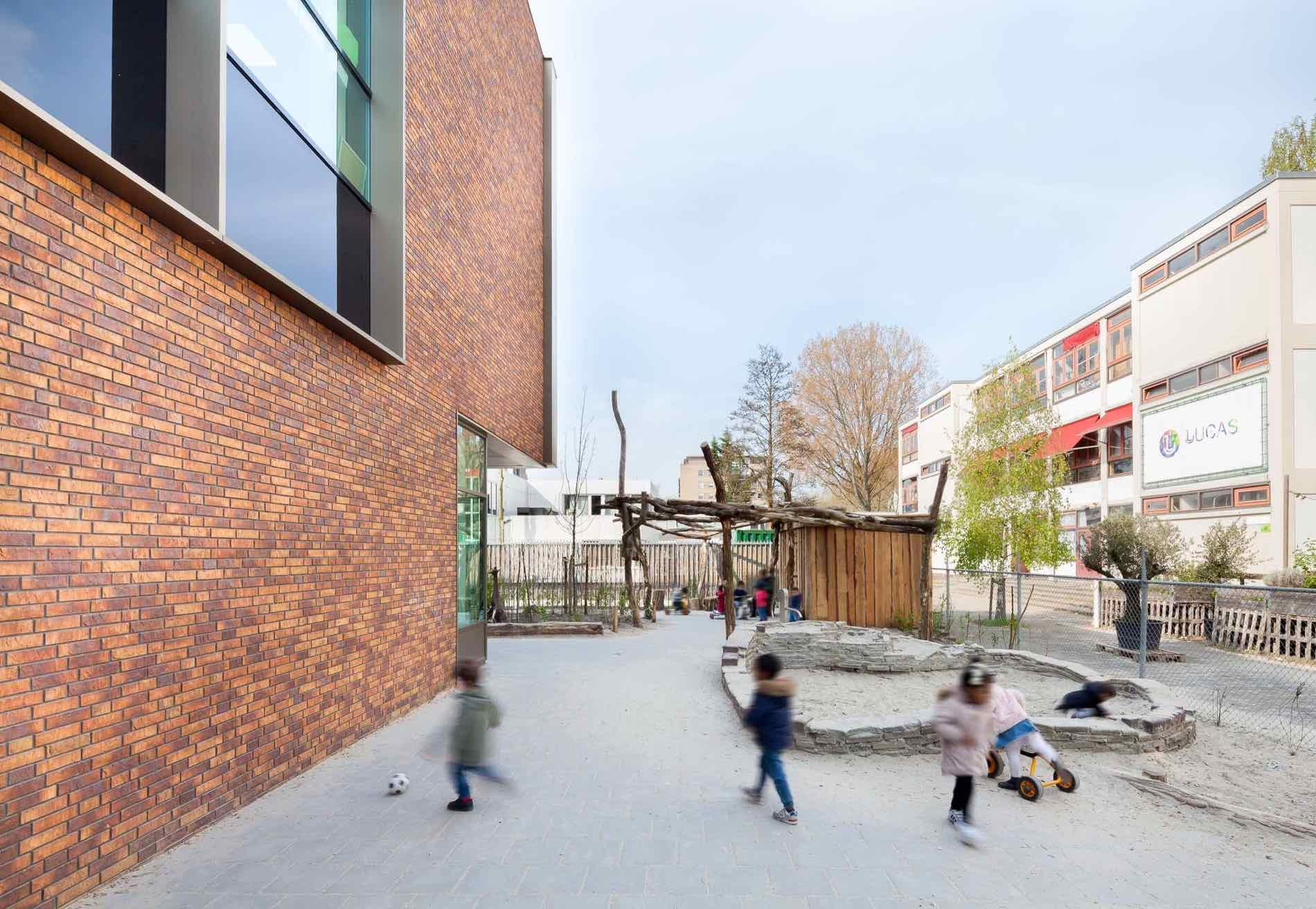 IKC Het Talent 4 Amsterdam - Paul de Ruiter architects