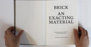 Brick An exacting material - Jan Peter Wingender (foto Steenhandel Gelsing)